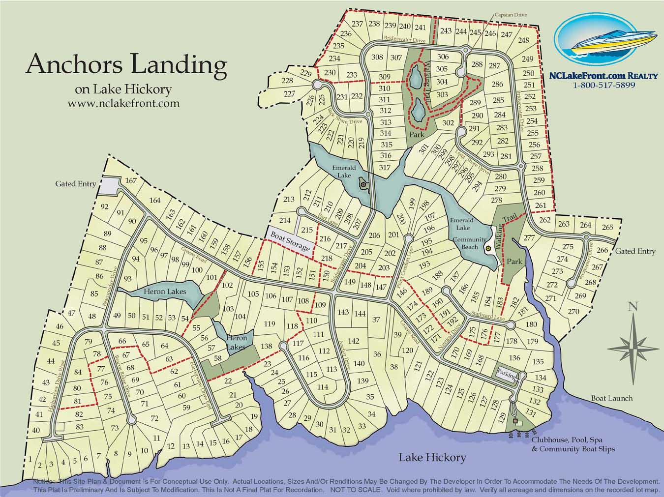 Anchors Landing On Lake Hickory Nc General Info