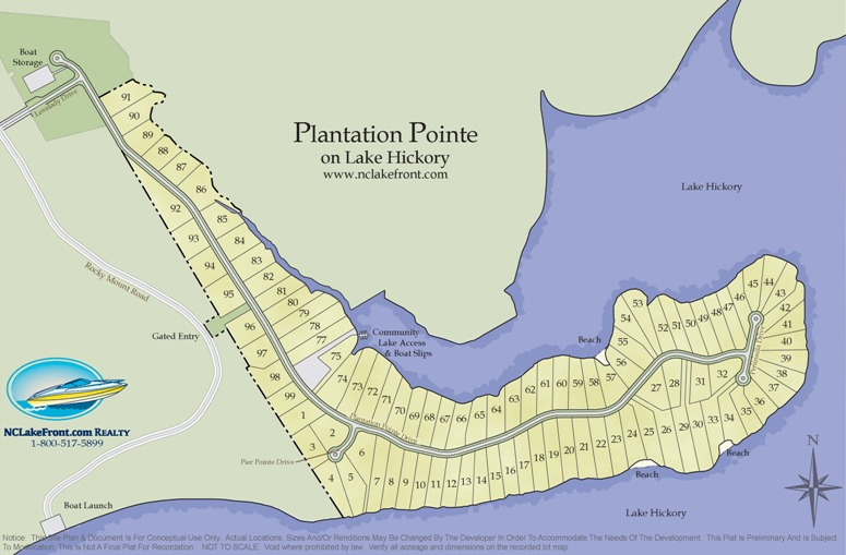 Plantation Pointe on Lake Hickory, NC
