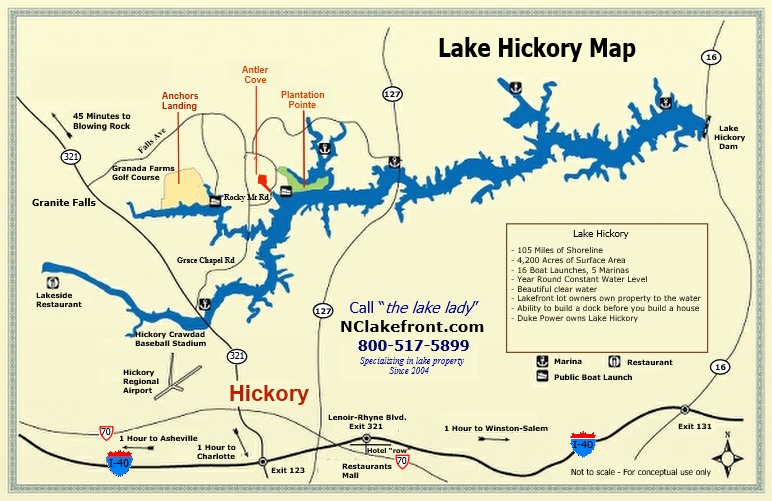 Anchors Landing On Lake Hickory Nc Lake Info